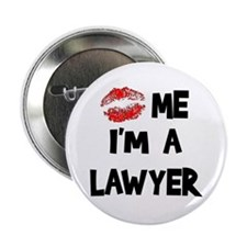 "Kiss Me I'm A Lawyer 2.25"" Button (100 pack)"