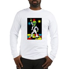 Disco Alien Long Sleeve T-Shirt