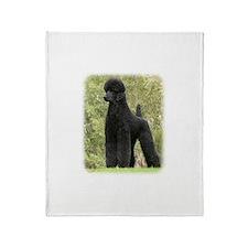 Poodle Standard 9Y181D-031 Throw Blanket