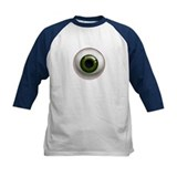 The Eye: Green, Dark Tee