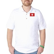 Switzerland Civil Ensign T-Shirt