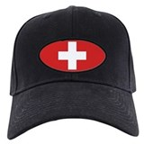 Switzerland Civil Ensign Baseball Hat