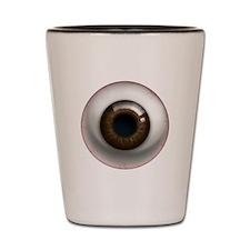 The Eye: Brown, Dark Shot Glass