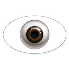The Eye: Brown, Dark Decal