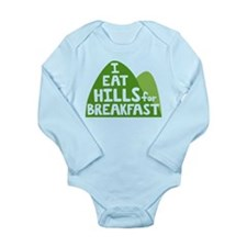 Hills Long Sleeve Infant Bodysuit