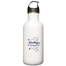 Family Tree Chart Water Bottle