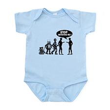 Robot evolution Infant Bodysuit