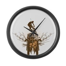 BMX Large Wall Clock