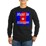 Made In Mississippi Long Sleeve Dark T-Shirt