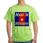 Made In Mississippi Green T-Shirt