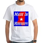 Made In Mississippi White T-Shirt