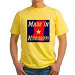 Made In Mississippi Yellow T-Shirt