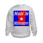 Made In Mississippi Kids Sweatshirt
