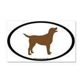 Cute European Car Magnet 20 x 12