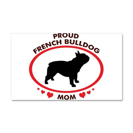 French Bulldog Mom Car Magnet 20 x 12
