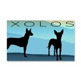 Blue Mountain Xolo Car Magnet 20 x 12