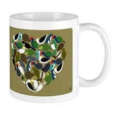 NZ Bird Heart Mug