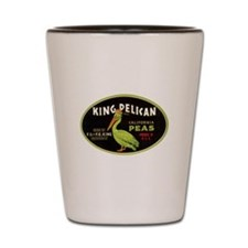 King Pelican Peas Shot Glass