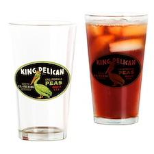 King Pelican Peas Drinking Glass