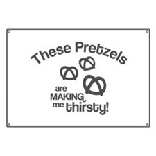These Pretzels Are Making Me Banner