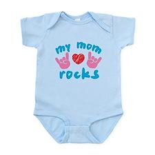 My Mom Rocks Infant Bodysuit