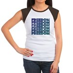 Freedom Women's Cap Sleeve T-Shirt