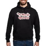 B Movie Queen Hoodie (dark)