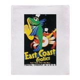 East Coast Frolics Throw Blanket