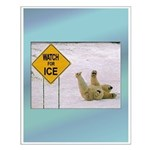 Watch for Ice Small Poster