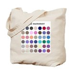 color analysis Tote Bag cool summer