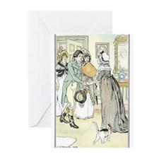 Famous Jane Austen Illustrated greeting cards!