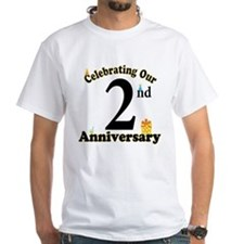 2nd Anniversary Party Gift Shirt