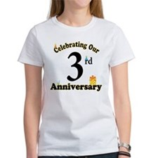 3rd Anniversary Party Gift Tee