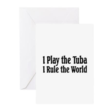 Tuba Greeting Cards (Pk of 10)