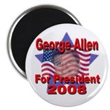 "George Allen For President 20 2.25"" Magnet (100 pa"