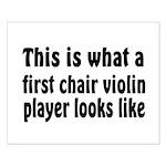 Violin Small Poster