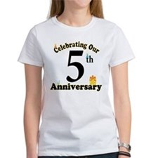 5th Anniversary Party Gift Tee