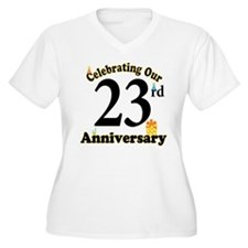 23rd Anniversary Party Gift T-Shirt