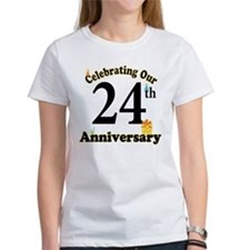 24th Anniversary Party Gift Tee