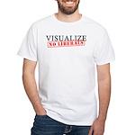 Visualize No Liberals White T-Shirt