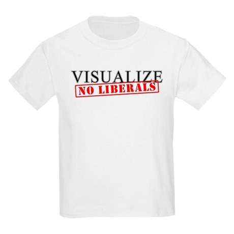 Visualize No Liberals Kids T-Shirt