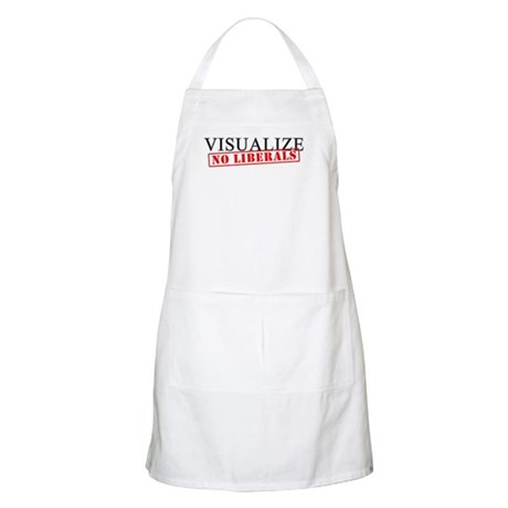 Visualize No Liberals BBQ Apron