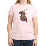 Japanese Samurai Warrior Women's Light T-Shirt