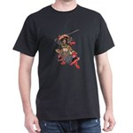 Japanese Samurai Warrior Dark T-Shirt
