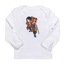Japanese Samurai Warrior Long Sleeve Infant T-Shir