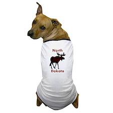 Customized Plain Moose Dog T-Shirt