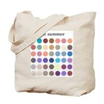 color analysis Tote Bag soft summer