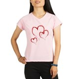 THREE HEARTS Performance Dry T-Shirt