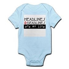 Headlines & Deadlines Infant Bodysuit
