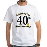 40th Anniversary Party Gift Shirt